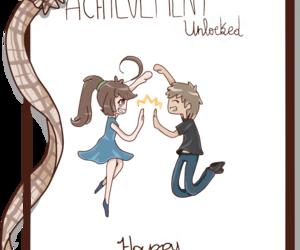 anime, anniversary, and couple image