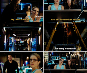 arrow, Felicity, and the flash image