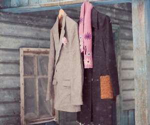 coat, cold, and winter image