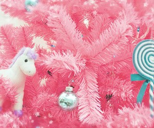merry christmas, pink, and christmas image