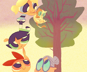 girls, wallpaper, and the power puff girls image