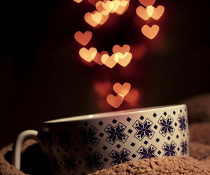 winter, warm, and coffee image