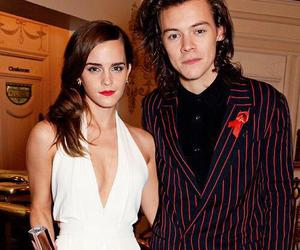 Harry Styles, emma watson, and one direction image