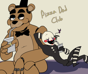 Freddy, xD, and the puppet image