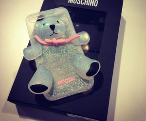cute, Moschino, and bear image