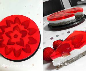 cheesecake, diy, and food image