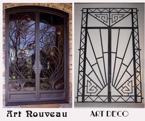 art deco and Art Nouveau image