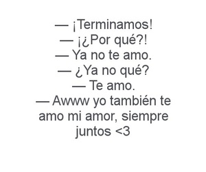 te amo and ya no image