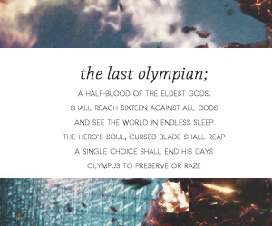 prophecy, percy jackson, and percabeth image