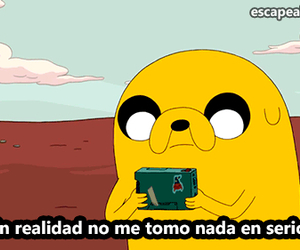 JAKe, frases, and hora de aventura image