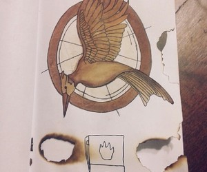 the hunger games, wreck this journal, and wreckthisjournal image