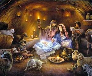 christmas and animals image