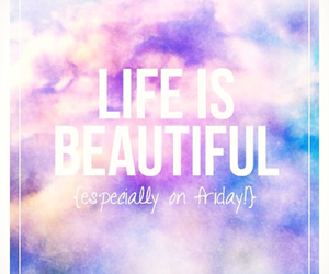 life is beautiful and quotes image