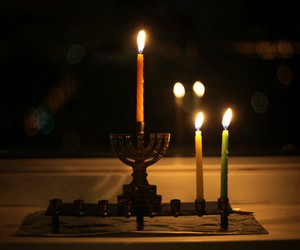 hanukkah, menorah, and jewish image