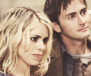 doctor who, billie piper, and rose image