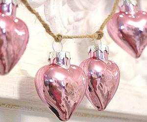 pink, beautiful, and christmas image