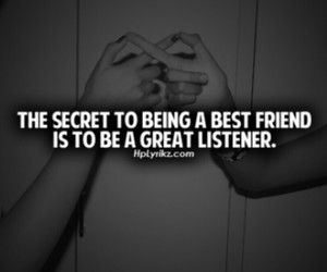 friends, best friend, and quote image