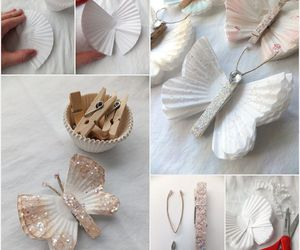 diy, butterfly, and crafts image