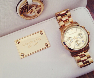 fashion, Michael Kors, and watch image