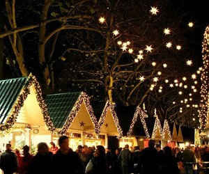 christmas, winter, and weihnachtsmarkt image
