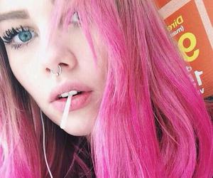 beautiful, people, and pink image