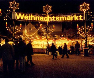 weihnachtsmarkt, christmas, and lights image