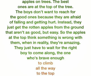 apples, bravery, and girls image