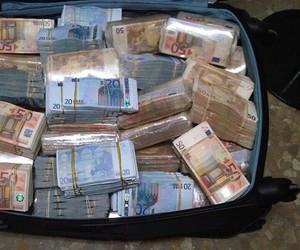 cash, euro, and money image