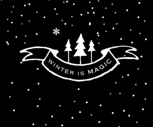 christmas, winter, and magic image