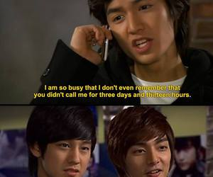 Boys Over Flowers, kdrama, and funny image