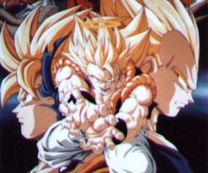 fusion, goku, and vegeta image