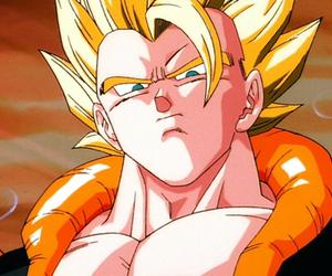 goku, vegeta, and fusion image