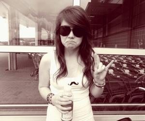 girl, sunglasses, and vitaminwater image