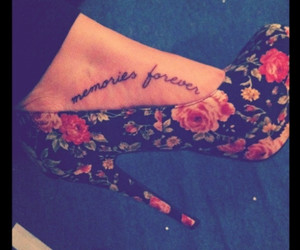 flowers, forever, and memories image