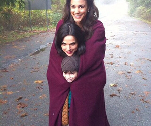 once upon a time, regina mills, and lana parrilla image