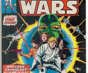 star wars, comic, and comic book image