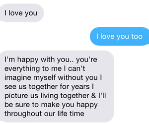 boyfriend, goals, and he loves me image