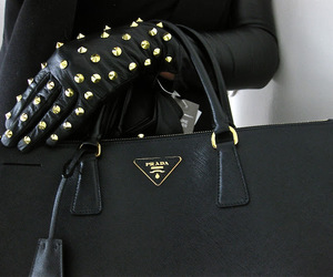 fashion, Prada, and black image
