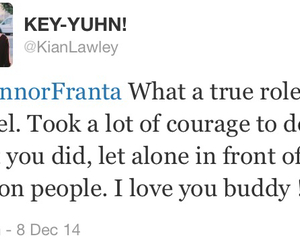 coming out, kian lawley, and connor franta image