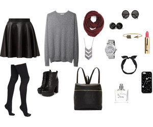 outfits, Polyvore, and pretty image