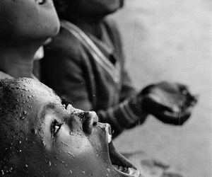 south africa, poor children, and longing for rain image