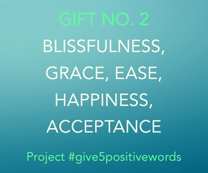 positive, positive words, and give5positivewords image