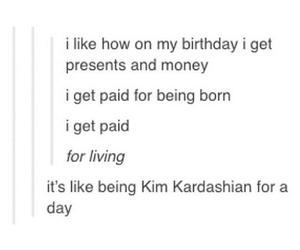 funny, kim kardashian, and tumblr image