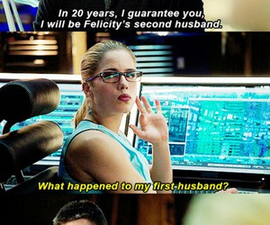 arrow, funny, and oliver queen image