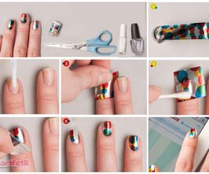 nail art, tırnak süsleme, and İlginç tırnak süsleme image
