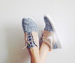 Bleu, shoes, and aymen image