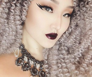 amazing, asian, and curls image
