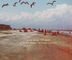 quote, vintage, and beach image