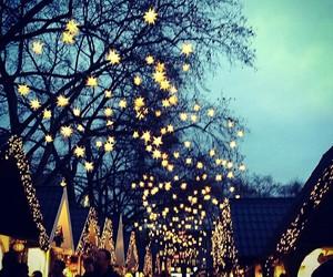beautiful, christmas, and lights image