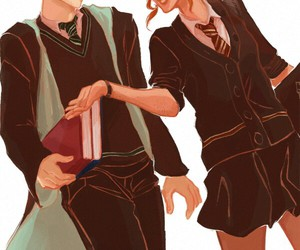 art, harry potter, and otp image